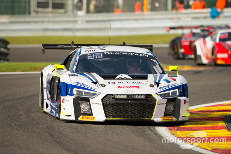 12. #26 Sainteloc Racing, Audi R8 LMS: Grégory Guilvert, Christopher Haase, Mike Parisy