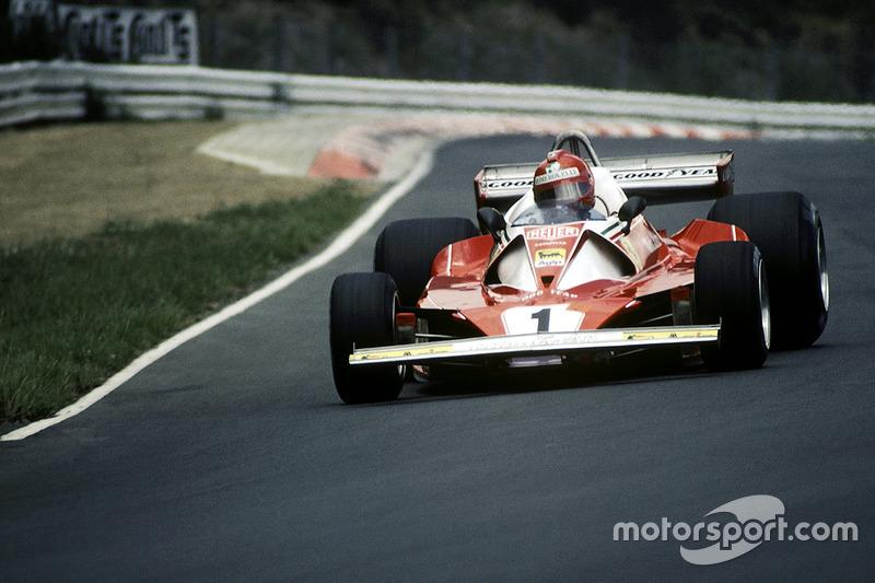1976-1978: Ferrari 312T2 (восемь побед, титулы в КК в 1976-1977 гг)