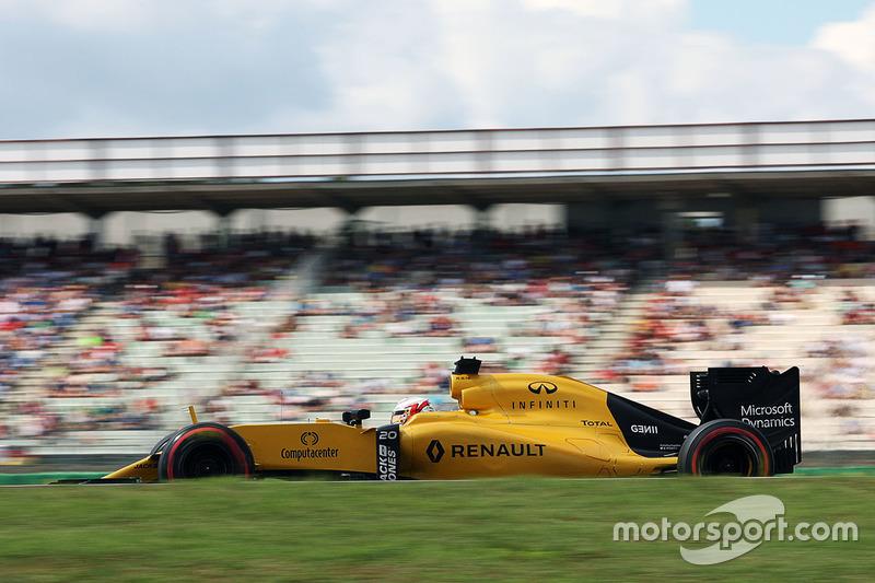 16: Кевін Магнуссен, Renault Sport F1 Team RS16