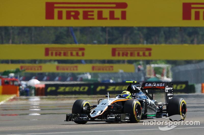 9: Серхіо Перес, Sahara Force India F1 VJM09