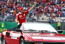 Себастьян Феттель, Ferrari на параді пілотів