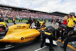 Кевін Магнуссен, Renault Sport F1 Team RS16 на стартовій решітці