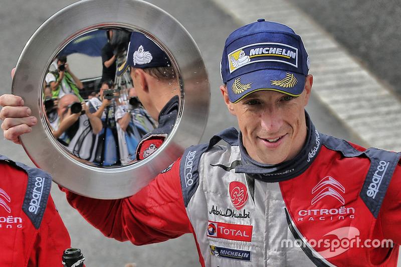 Ganador Kris Meeke, Citroën DS3 WRC, Citroën World Rally Team