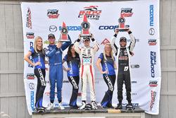 Podyum:  1. Santiago Urrutia, Schmidt Peterson Motorsports, 2. Dean Stoneman, Andretti Autosport, 3. André Negrao, Schmidt Peterson Motorsports