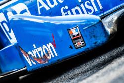 La monoposto del vincitore della gara Simon Pagenaud, Team Penske Chevrolet