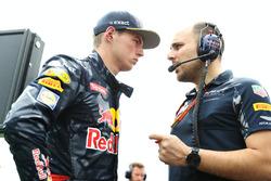 Startaufstellung: Max Verstappen, Red Bull Racing