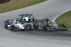 Spencer Pigot, Ed Carpenter Racing Chevrolet, R.C. Enerson, Dale Coyne Racing Honda