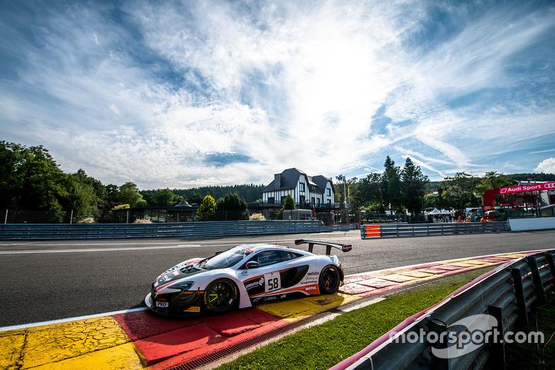 46. #58 Garage 59, McLaren 650 S GT3: Shane Van Gisbergen, Côme Ledogar, Rob Bell