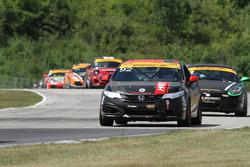 #92 HART,Honda Civic Si: Cameron Lawrence, Steve Eich