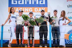Podyum: yarış galibi Lando Norris, Josef Kaufmann Racing, 2. Dorian Boccolacci, Tech 1 Racing, 3. Jehan Daruvala, Josef Kaufmann Racing