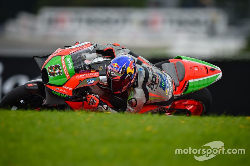 19. Stefan Bradl, Aprilia Racing Team Gresini