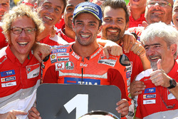 Race winner Andrea Iannone, Ducati Team