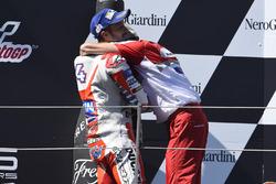 Gigi Dall'Igna, General Manager Ducati Corse, Andrea Dovizioso, Ducati Team