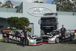 Scott Pye, DJR Team Penske; Fabian Coulthard, DJR Team Penske