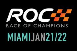 Logotipo para la Carrera de Campeones Miami que tendrá lugar el 21 de enero y 22 2017 en Marlins Park