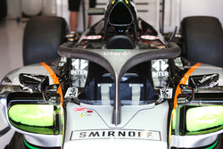 Sahara Force India F1 VJM09 con l'Halo