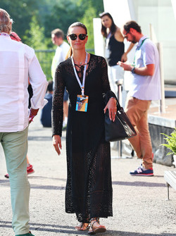 Minttu Räikkönen, Frau von Kimi Räikkönen, Ferrari