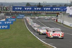 Mariano Werner, Werner Competicion Ford, 12\, Facundo Ardusso, JP Racing Dodge, Mauricio Lambiris, Coiro Dole Racing Torino