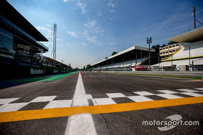 Start/Ziel-Gerade in Monza