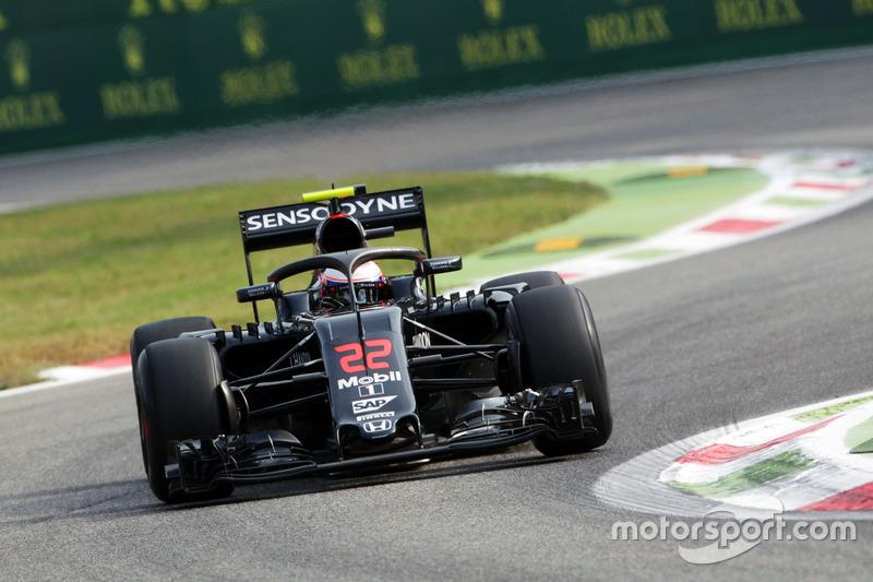 McLaren MP4-31, Дженсон Баттон