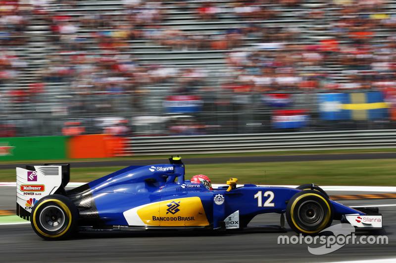 18. Felipe Nasr, Sauber C35