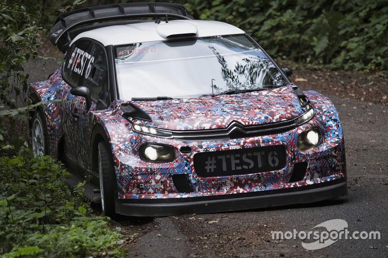 Kris Meeke, Paul Nagle,  Craig Breen and Scott Martin , Citroën World Rally Team, Citroën C3 WRC Plus 2017