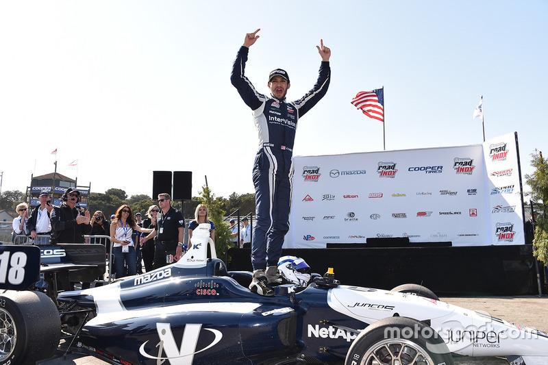 Ganador de la carrera Kyle Kaiser, Juncos Racing