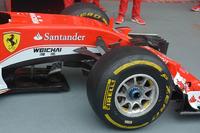 Detail depan Ferrari SF16-H