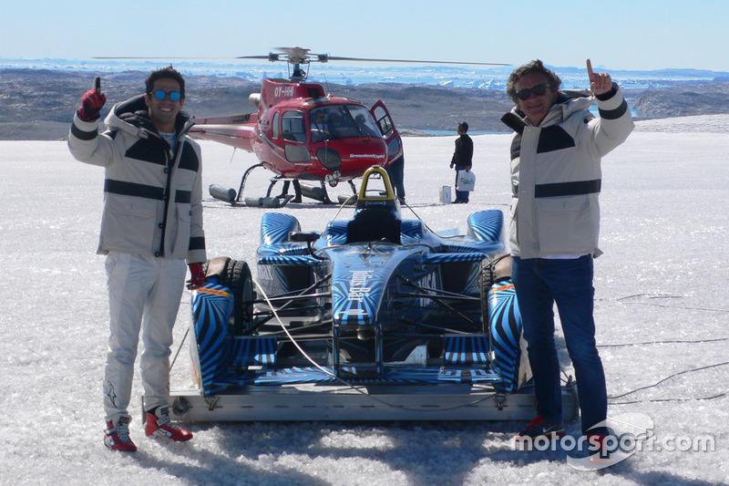 Lucas di Grassi y Alejandro Agag, Formula E CEO