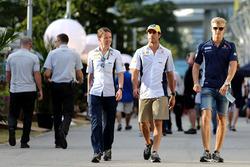 Felipe Nasr, Sauber F1 Team y Marcus Ericsson, Sauber F1 Team