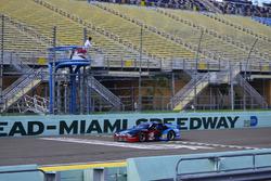 #53 MP3A Mazda RX-7 GTU: Angel Clemente and Carlos Ramirez of Aco Jones Racing Team