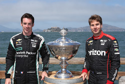 Contendientes por el CampeonatoSimon Pagenaud, Team Penske Chevrolet, Will Power, Team Penske Chevrolet