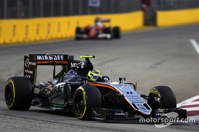 8. Sergio Perez, Sahara Force India VJM09