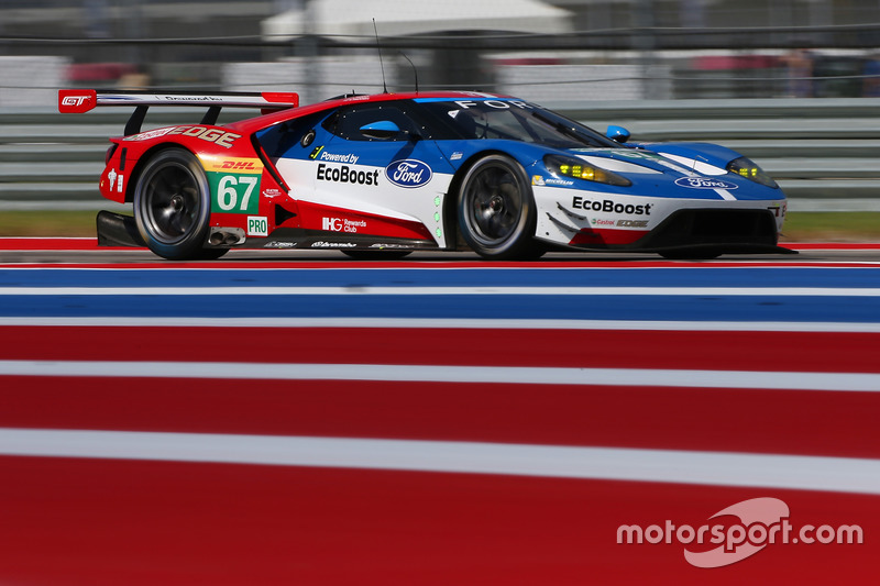 6. GTE-Pro: #67 Ford Chip Ganassi Racing Team UK, Ford GT: Marino Franchitti, Andy Priaulx, Harry Tincknell
