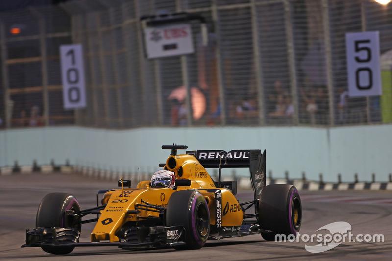15º: Kevin Magnussen, Renault Sport F1 Team