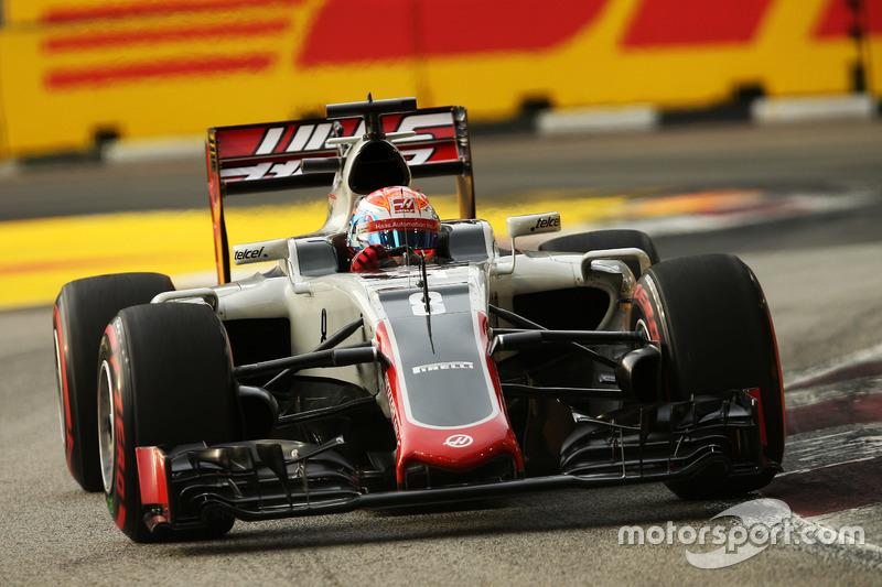 20º: Romain Grosjean, Haas F1 Team VF-16 (5 posiciones de penalización)