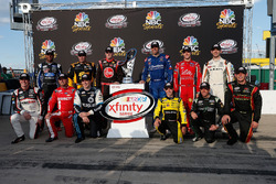 Chase contenders: Erik Jones, Joe Gibbs Racing Toyota, Elliott Sadler, JR Motorsports Chevrolet, Daniel Suarez, Joe Gibbs Racing Toyota, Ty Dillon, Richard Childress Racing Chevrolet, Justin Allgaier, JR Motorsports Chevrolet, Darrell Wallace Jr., Roush Fe