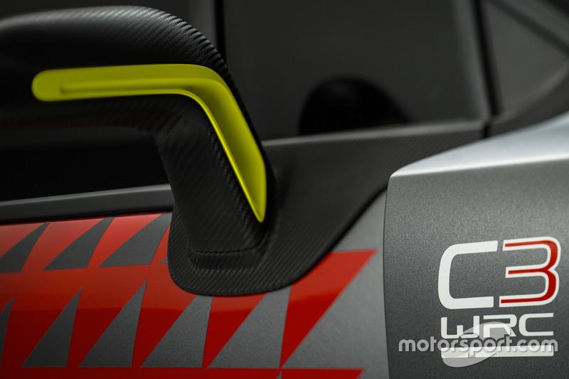 Citroën C3 WRC Concept car, dettaglio
