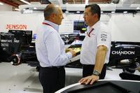 Ron Dennis ve Eric Boullier, McLaren