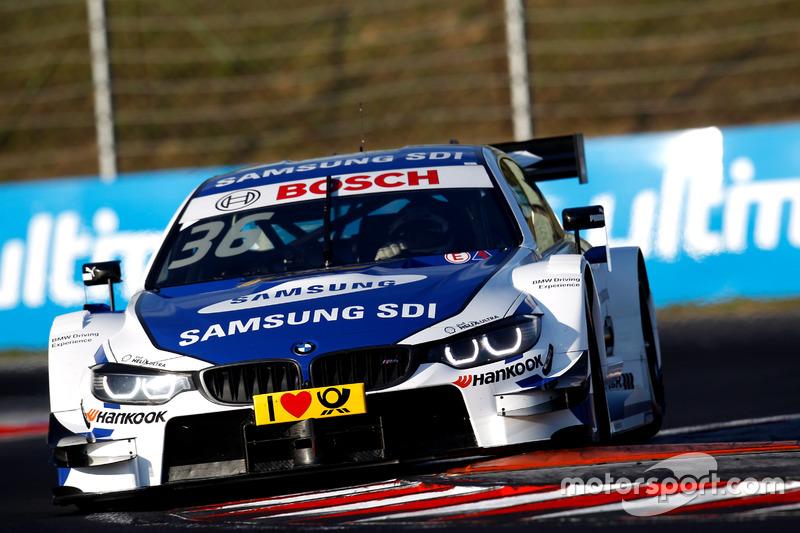 12. Maxime Martin, BMW Team RBM, BMW M4 DTM