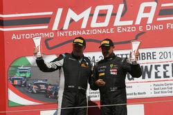 Podio Trofeo Pirelli: Ferdinando Geri, Easy Race, Paolo Venerosi, Ebimotors