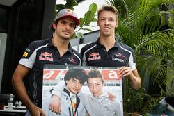 Карлос Сайнс, Scuderia Toro Rosso и Даниил Квят, Scuderia Toro Rosso