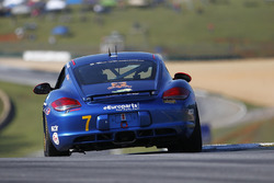 #7 Rebel Rock Racing Porsche Cayman: Lee Carpentier, Kieron O'Rourke