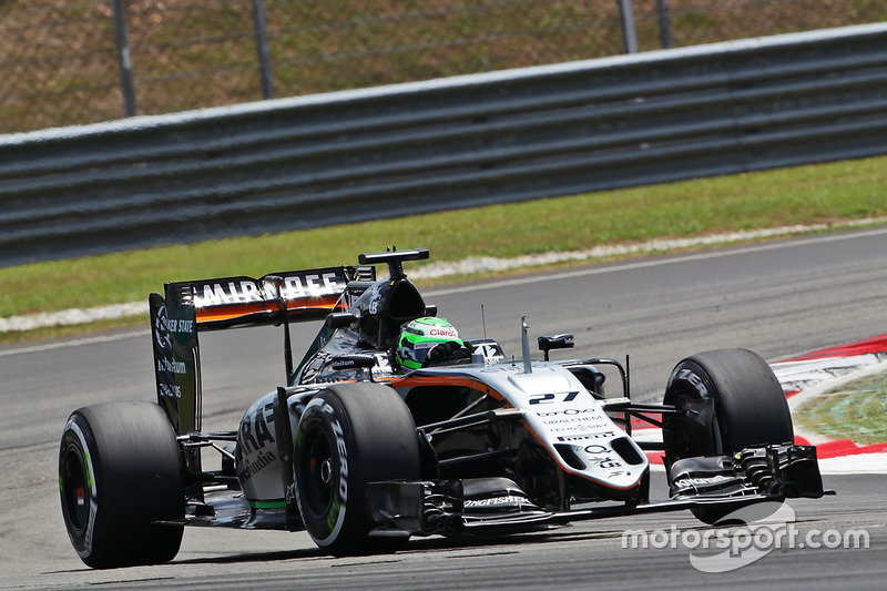 8: Nico Hulkenberg, Sahara Force India F1 VJM09