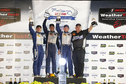 GT Daytona Podium: first place #33 Riley Motorsports SRT Viper GT3-R: Ben Keating, Jeroen Bleekemolen, Marc Miller