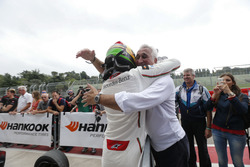 Lance Stroll (CAN) Prema Powerteam Dallara F312 – Mercedes-Benz with his father