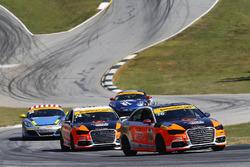 #75 Compass360 Racing Audi S3: Jayson Clunie, Matthew Keegan