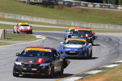 #93 HART Honda Civic Si: Chad Gilsinger, Cameron Lawrence
