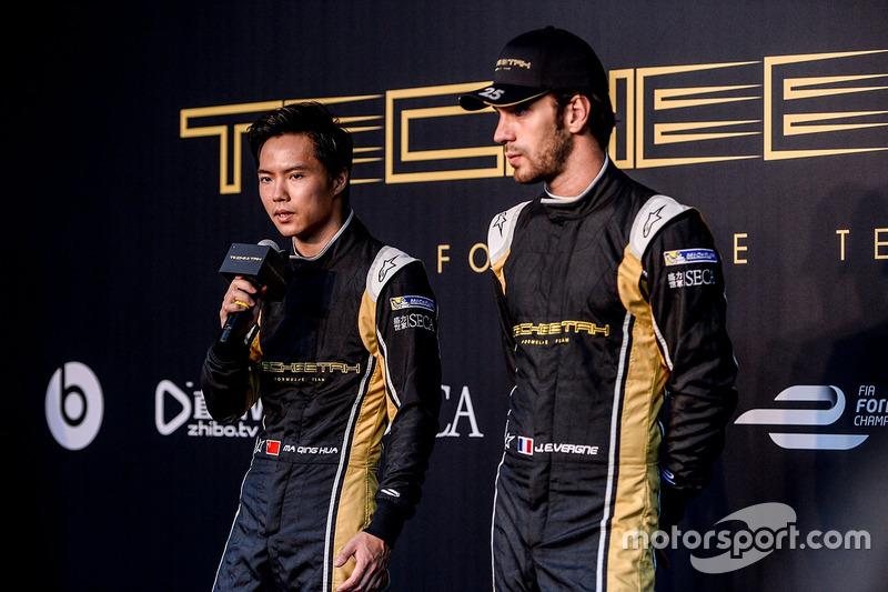 Ma Qing Hua, Techeetah; Jean-Éric Vergne, Techeetah