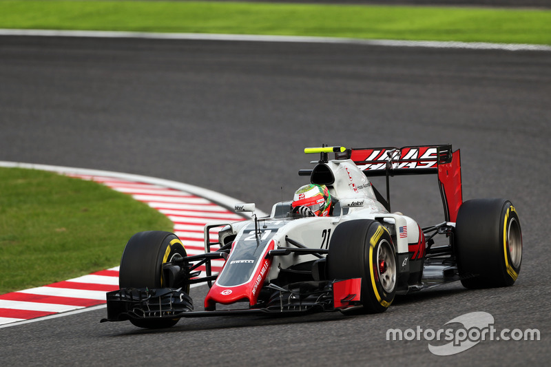20. Esteban Gutierrez, Haas F1 Team VF-16